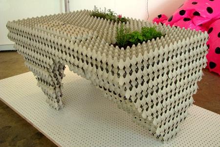 muebles con cajas de huevo4