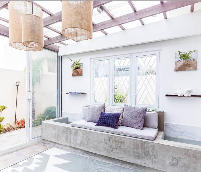14 incre bles ideas para hacer muebles de concreto t for Terrazas modernas en cemento