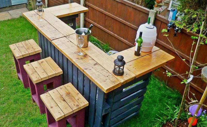 Haz tu propia barra de bar en tu casa muy f cil y practico - Haz tu propia casa ...