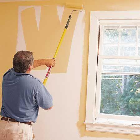 Como pintar las paredes