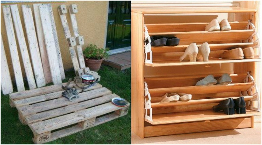 C mo hacer una zapatera con pallets manos a la obra for Zapateras de madera sencillas