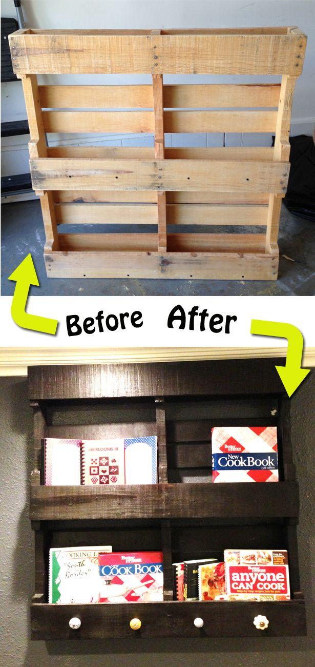 Libreros con materiales reciclados – Manos a la Obra