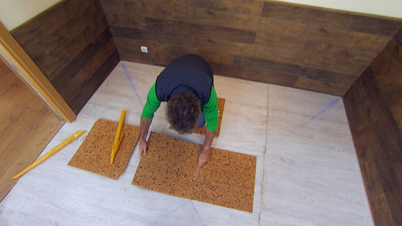 Instala un pavimento de corcho en tu cuarto muy f cil y - Pavimento de corcho ...