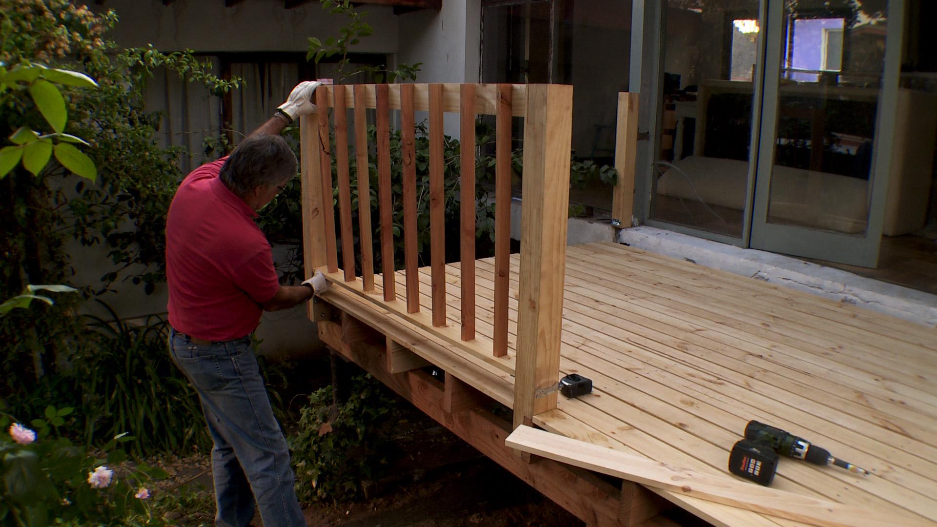 Construye tu propia terraza de madera en simples pasos - Suelo de madera para terraza ...