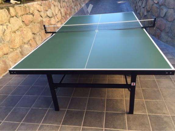 Construye una mesa de ping pong transportable muy f cil for Mesa ping pong exterior
