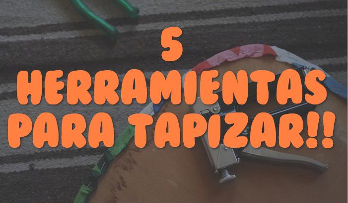 Estas son las 5 herramientas que necesitas para tapizar un - Grapadora para tapizar muebles ...