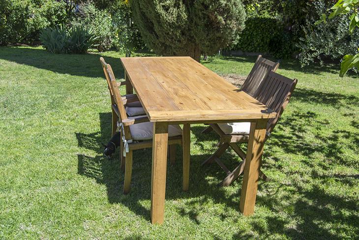 Cómo hacer una FANTÁSTICA mesa de comedor de exterior. PASO A PASO ...