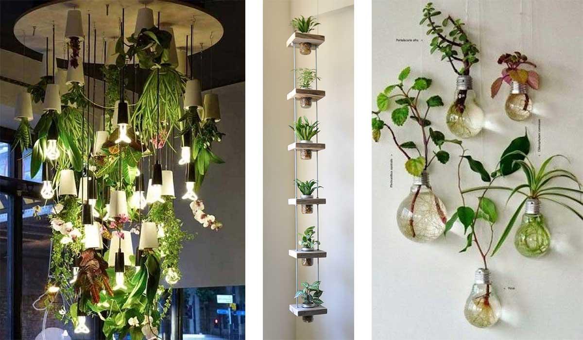 17 ideas geniales para tener jardines verticales en - Material para jardin vertical ...
