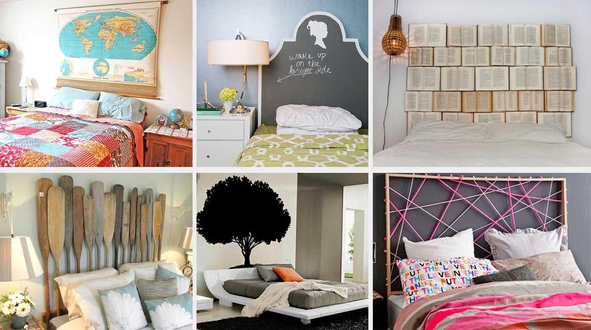 16 incre bles ideas para cabeceros de cama perfectas para - Decorar cabeceros de cama ...