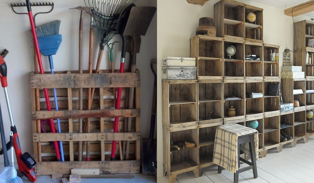 54 incre bles cosas que puedes hacer al reciclar tu madera for Como reciclar puertas de madera