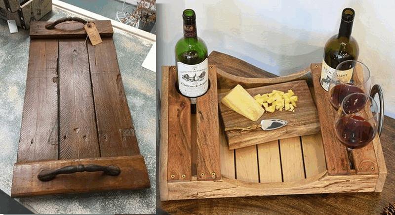 10 ideas de hacer bandejas con palets y darles un estilo - Cosas de madera para hacer ...