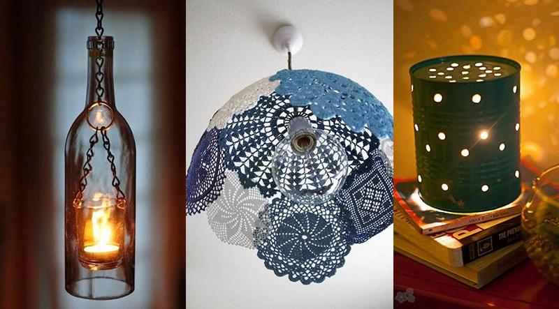 10 ideas para hacer tus propias lamparas en casa manos a la obra - Ideas para hacer lamparas ...