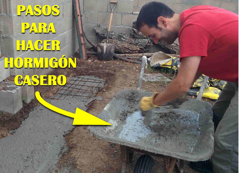 Aprende a hacer hormig n como un profesional en poco - Como hacer un piso de hormigon lustrado ...
