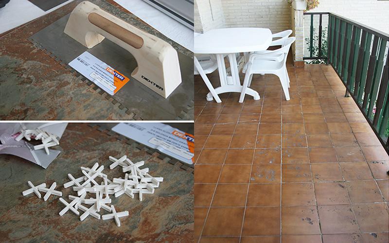 Aprende una forma f cil y r pida para colocar pisos de - Como quitar el sarro del piso ceramico ...
