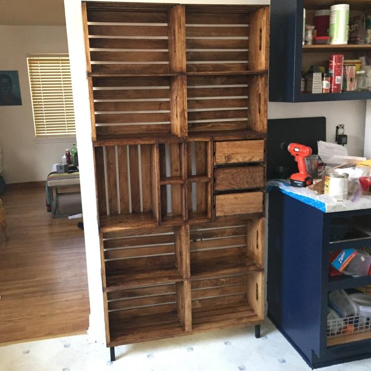 Este mueble es la soluci n para ordenar su garaje muy f cil manos a la obra - Muebles para garaje ...