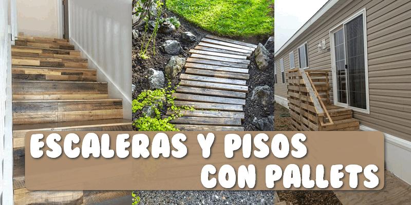 15 ideas para hacer fabulosas escaleras y pisos con for Escalera de jardin de madera