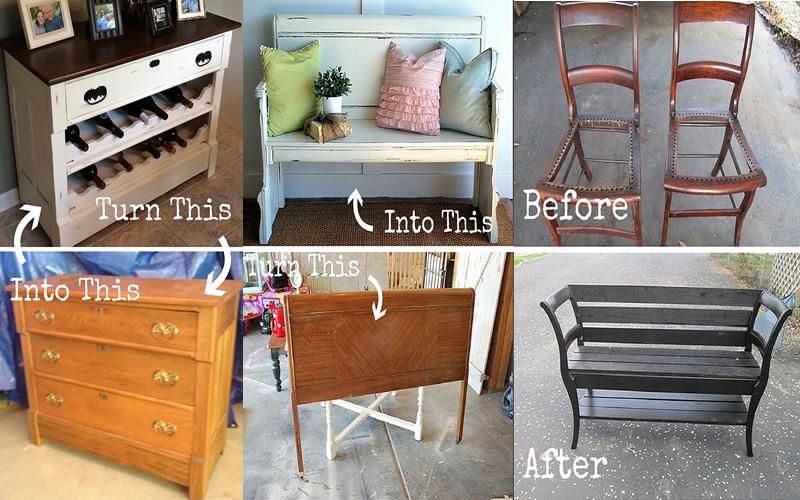 DIY: 10 Increíbles renovaciones de muebles para sala – Manos a la Obra