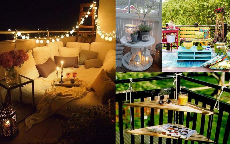 12 maravillosas ideas de muebles para balcones peque os for Muebles de balcon