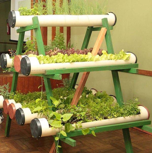 Diy Pvc Gardening Ideas And Projects: 18 Ideas Para Reutilizar Los Tubos De PVC Sin Contaminar