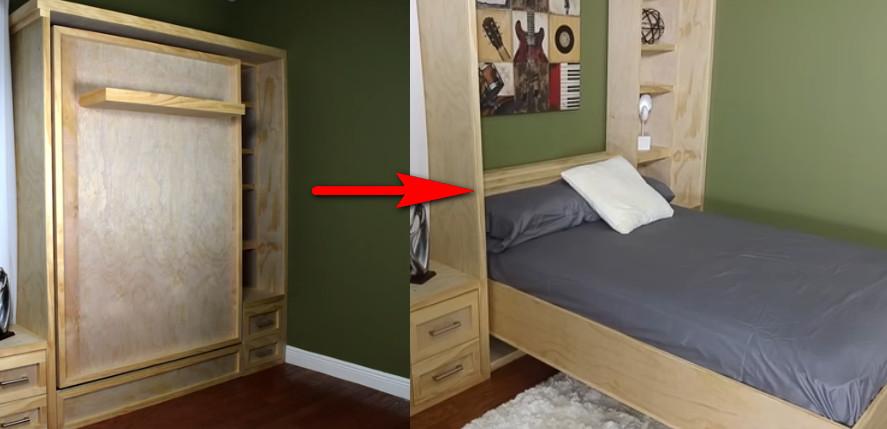 Aprende a hacer una cama plegable paso a paso manos a - Hacer cama plegable pared ...
