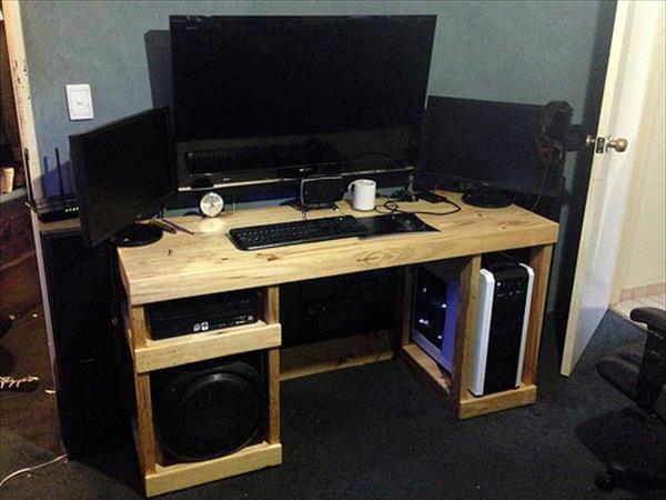 escritorios con palets