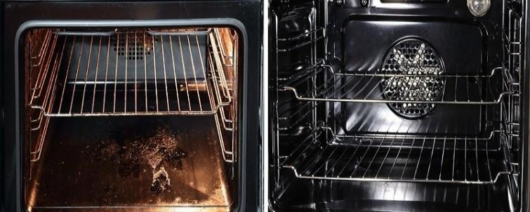 Aprende c mo limpiar el horno de tu cocina sin usar - Limpiar horno con bicarbonato y vinagre ...