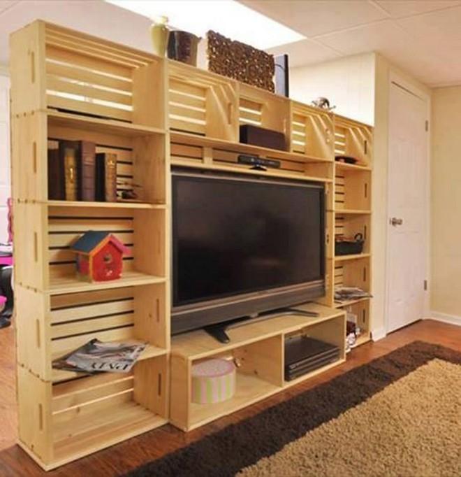 10 ideas para reciclar pallets con muebles para tu hogar for Reciclar palets de madera muebles