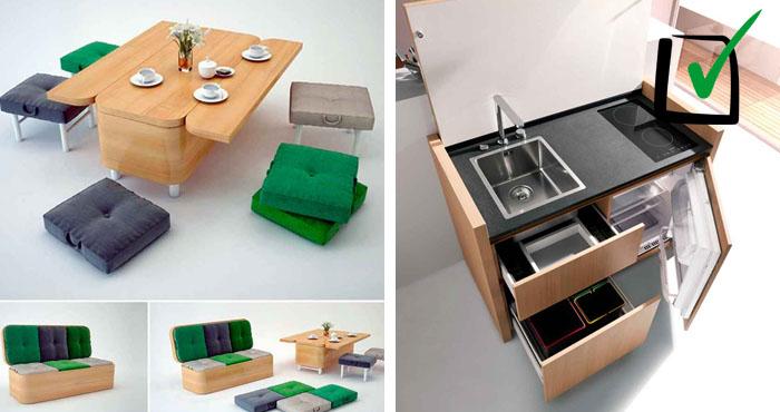 Los muebles funcionales m s incre bles que puedes ver for Muebles funcionales