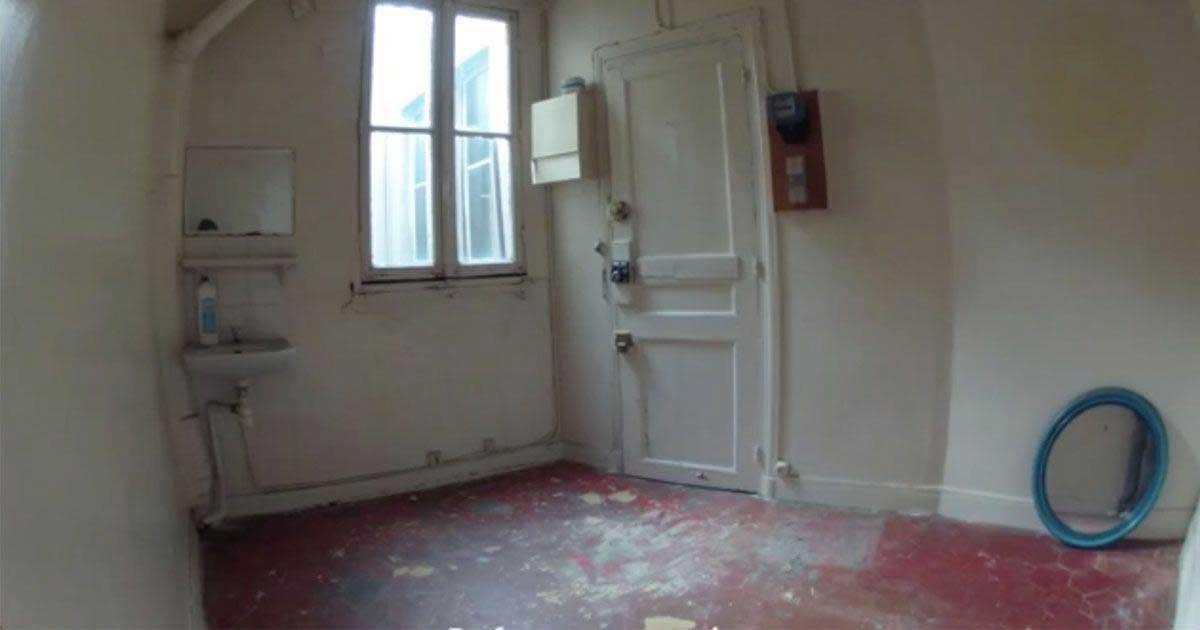 Mira c mo una mujer convirti su peque o apartamento en - Amueblar apartamento ...