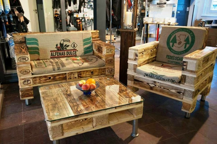25 Muestras de muebles hechos con pallets que son mucho más que un ...
