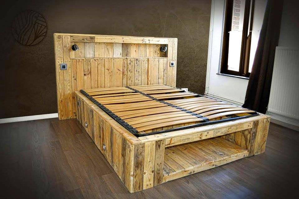 Muebles Hechos Con Palets Stunning Insprate Junto A Ellos Y Disea - Muebles-hechos-con-palet
