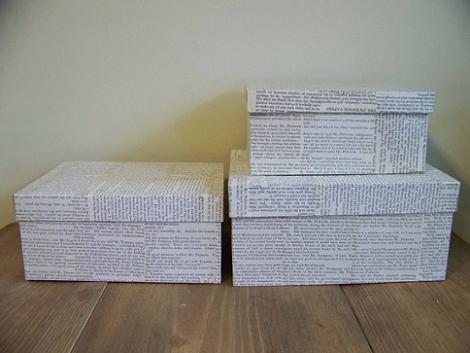 5 ideas para forrar cajas y decorar tu habitaci n manos for Forrar cajas de carton con tela