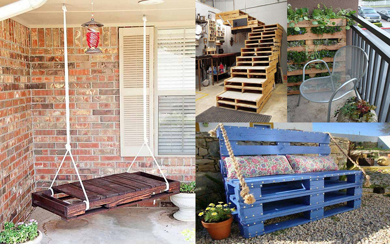 18 ideas para enamorarse de los muebles de pallets manos - Muebles de cocina hechos de obra ...
