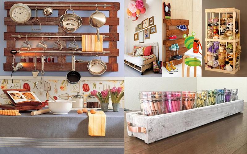 hoy en da usamos los palets para decorar cualquier espacio de nuestro hogar con ellos podemos hacer muebles bales para guardar juguetes e incluso camas