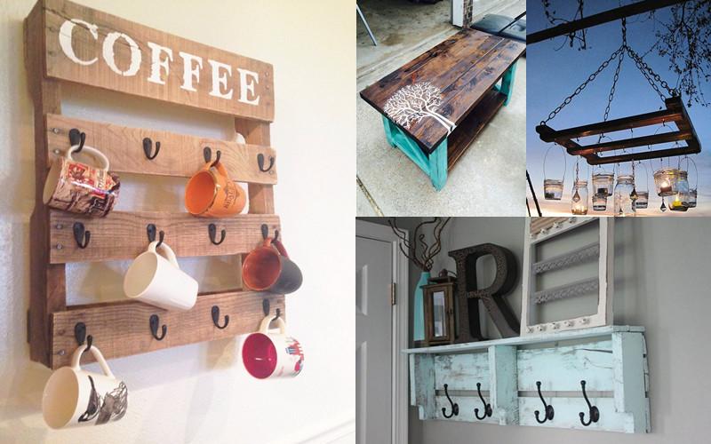 18 sorprendentes ideas para hacer pallets a tu gusto en for Ideas para remodelar tu casa