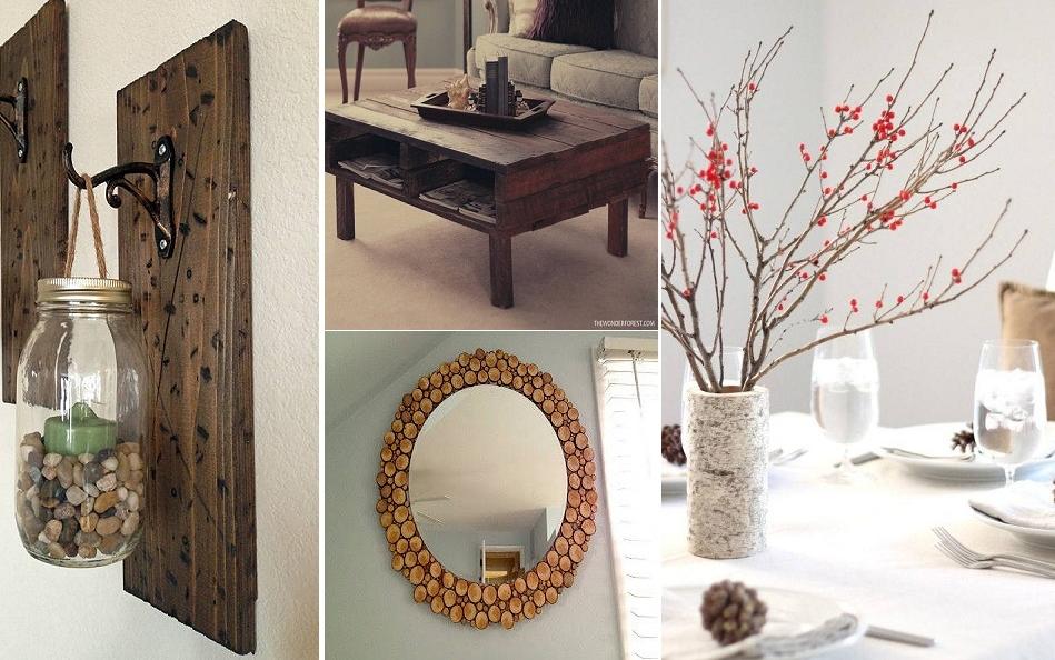 5 proyectos en madera sencillos de hacer para for Adornos hogar
