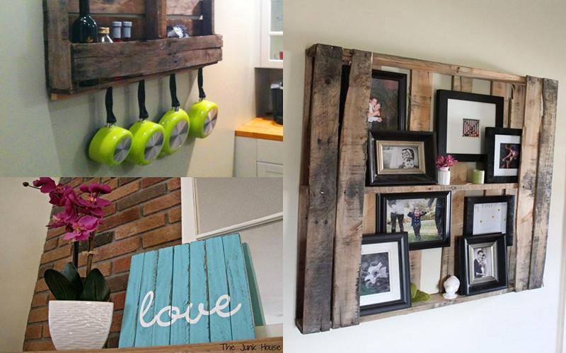 Mira estas fabulosas ideas para mejorar tu casa con pallets – Manos ...