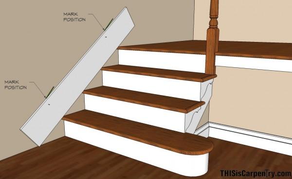 Aprenda A Instalar Faldones O Machimbrados A Su Escalera