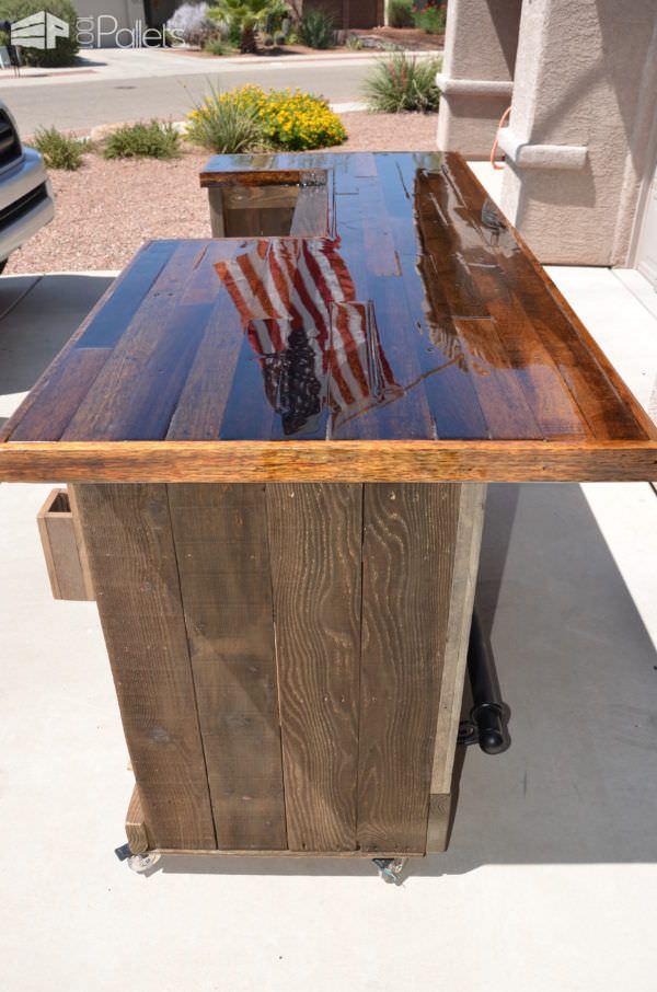 Realiza tu propia barra para tu jard n con este poderoso for Bar de madera usado