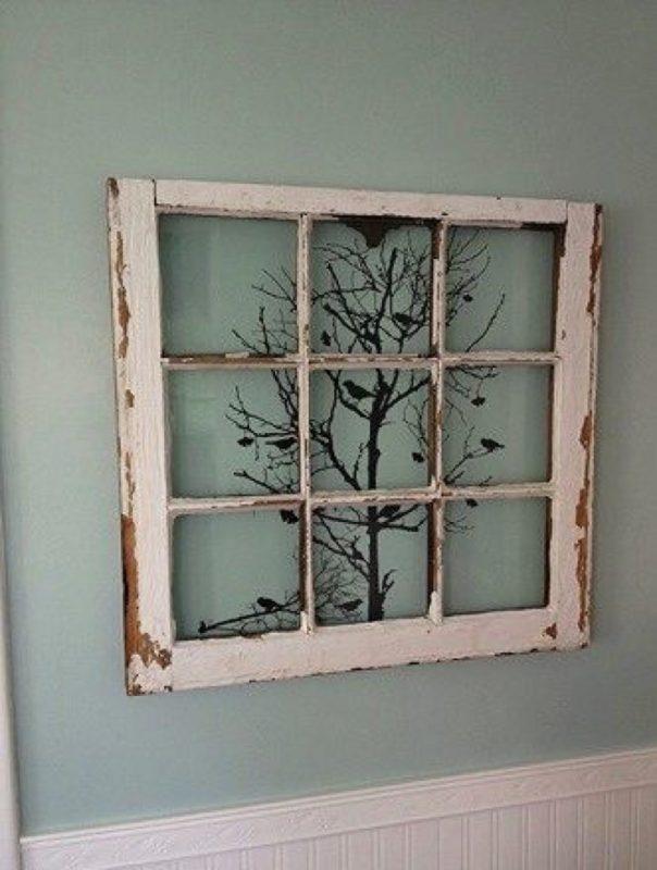 20 Hermosas maneras de reciclar tus ventanas viejas en casa – Manos ...
