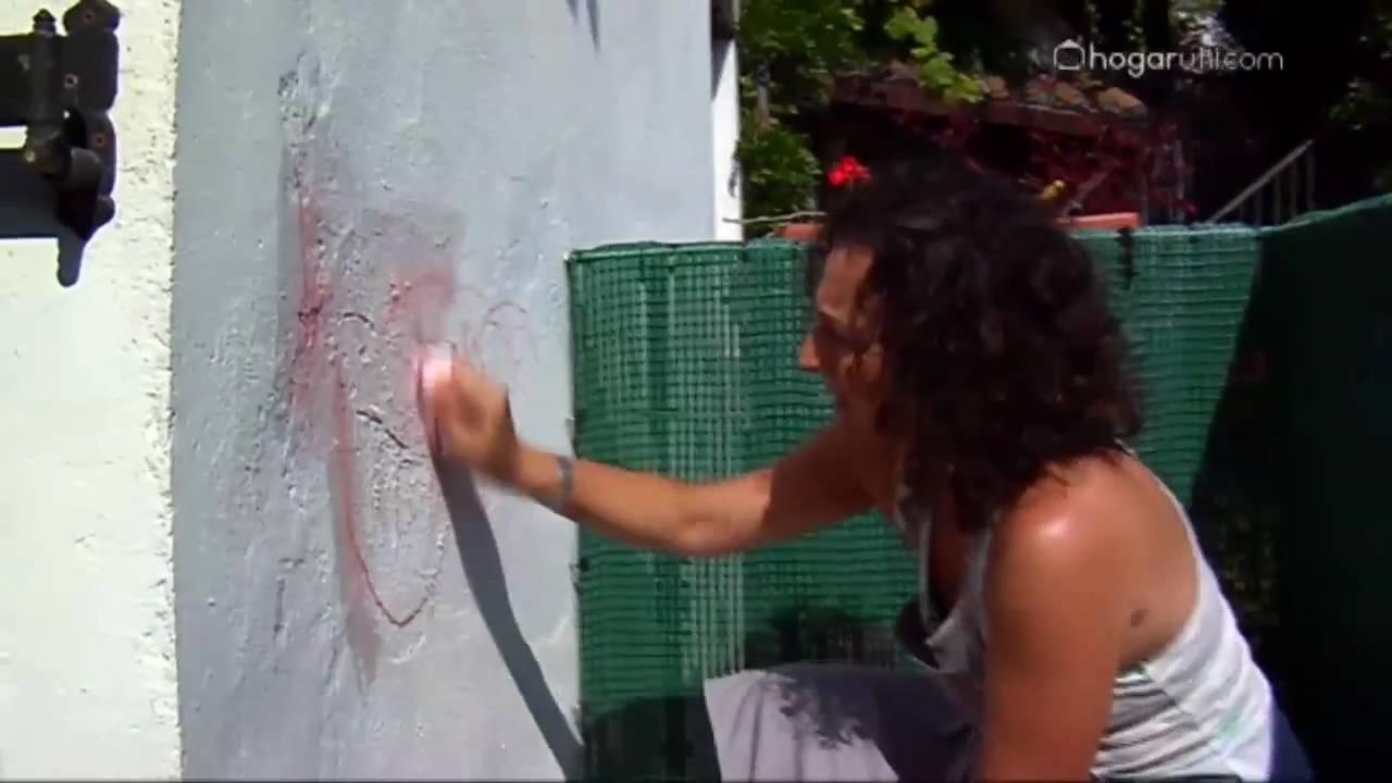 Aprende a limpiar las paredes de las manchas de crayolas y - Como limpiar grafitis ...