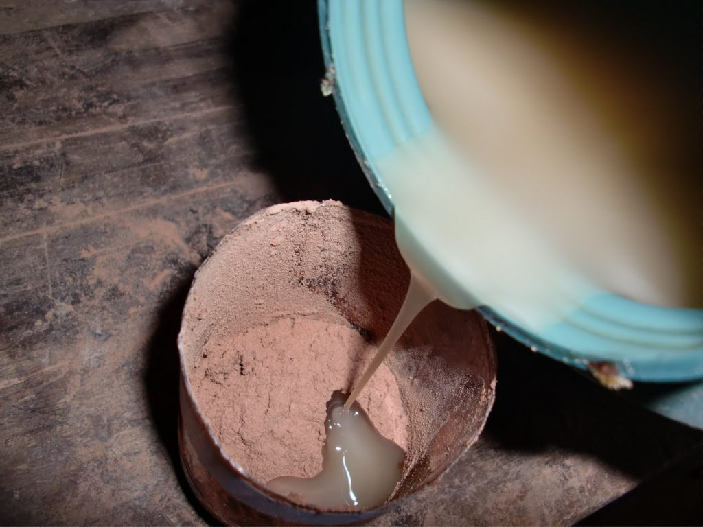 Aprende esta incre ble forma de hacer masilla de forma - Masilla para madera casera ...