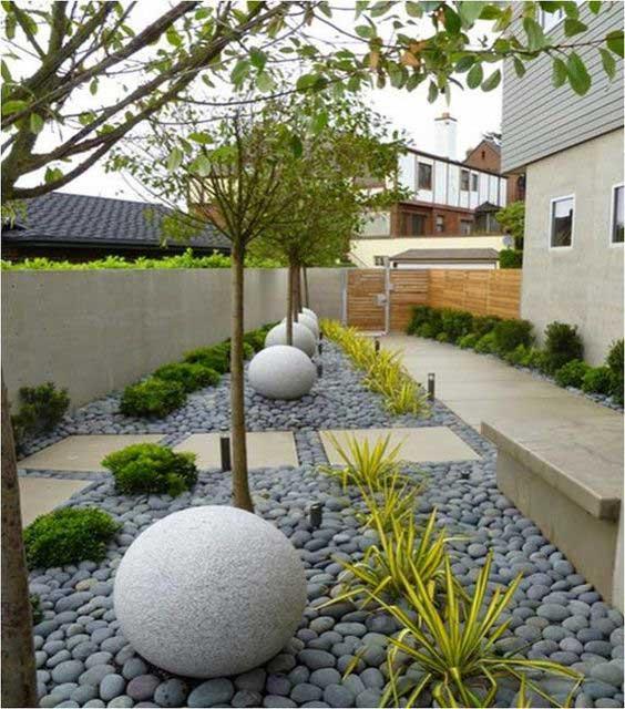 Elementos decorativos para jardin free adems sobre una - Elementos decorativos para jardin ...