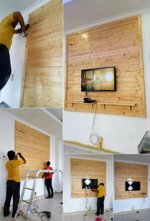 Haz tu propio panel de pallets para tu centro de - Con las manos en tu casa ...