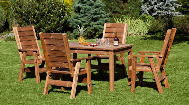 Aprende c mo mantener protegida la madera de los for Muebles madera jardin exterior