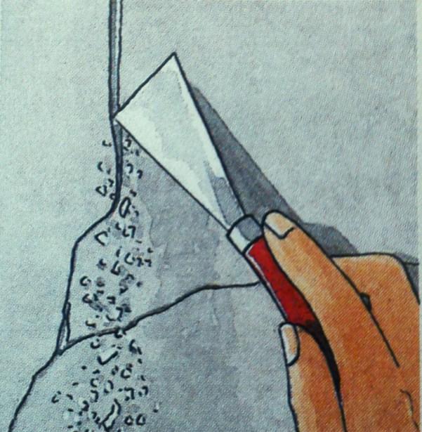 Ahora ya no se te har dif cil cubrir las grietas de la - Reparar grietas pared ...