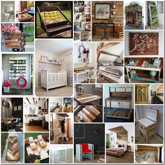 Sorprendente las 9 ideas m s originales para fabricar for Deco en palet de madera