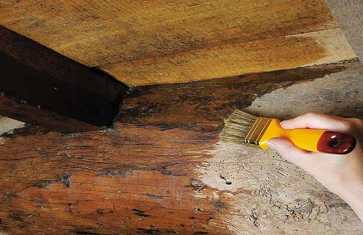 C mo te ir la madera sin tratar con nogalina genial - Como tratar la madera ...