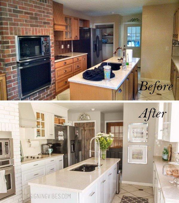 10 ejemplos de c mo se puede renovar muebles de cocina - Renovar muebles de cocina ...