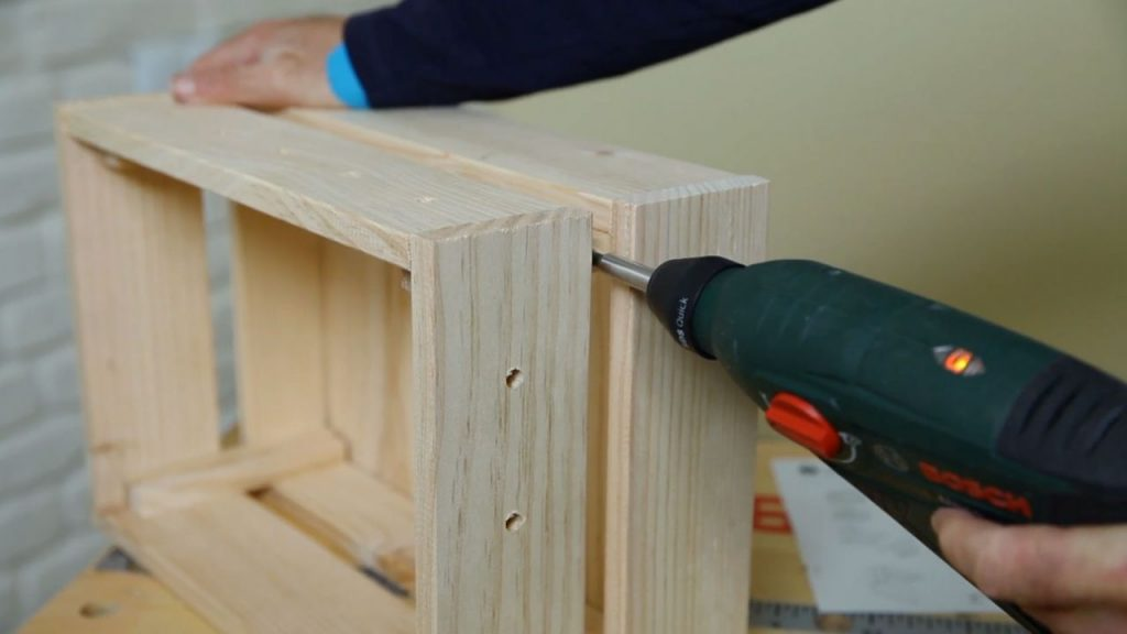 Hacer una caja de madera vintage caja de madera joyera - Hacer una caja de madera ...